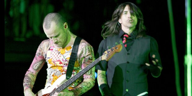 Red Hot Chili Peppers: unverhüllt privat
