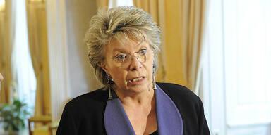 EU-Kommissarin sagt Teilnahme an EM-Spiel ab