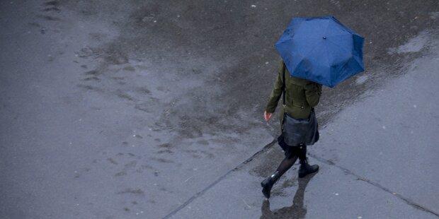 Hohe Pegelstände durch Regen