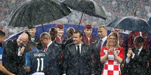 Putin ließ Kroatien-Präsidentin im Regen stehen
