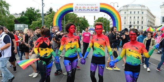 Regenbogenparade: 185.000 in Feierlaune