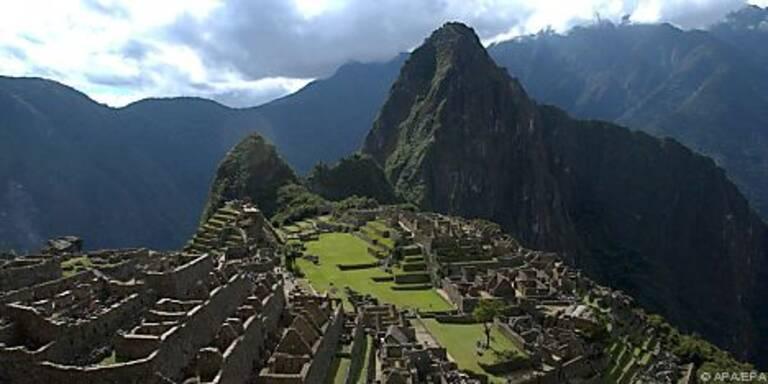 Regenfälle schnitten Machu Picchu ab