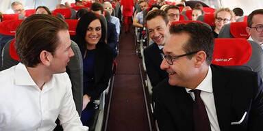 """Hier fliegt Regierung in """"Holzklasse"""" nach Brüssel"""