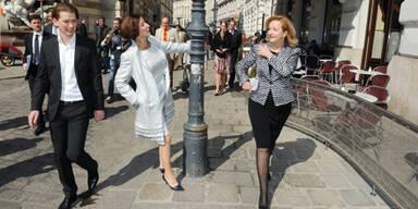VP-Minister auf dem Weg zur Angelobung