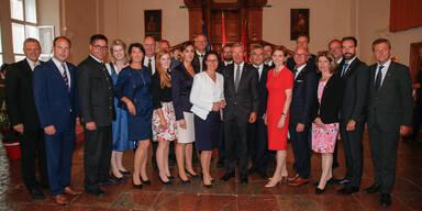 Neue Salzburger Landesregierung gewählt