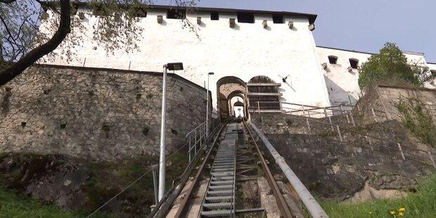 Älteste Standseilbahn Österreichs wird saniert