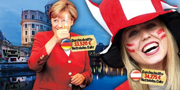 Wir sind reicher als die Deutschen