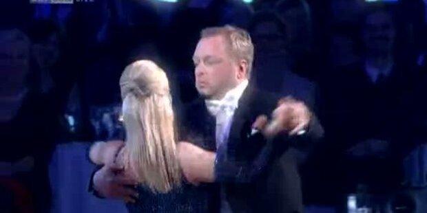 Reinhard Nowak tanzt einen Quickstepp