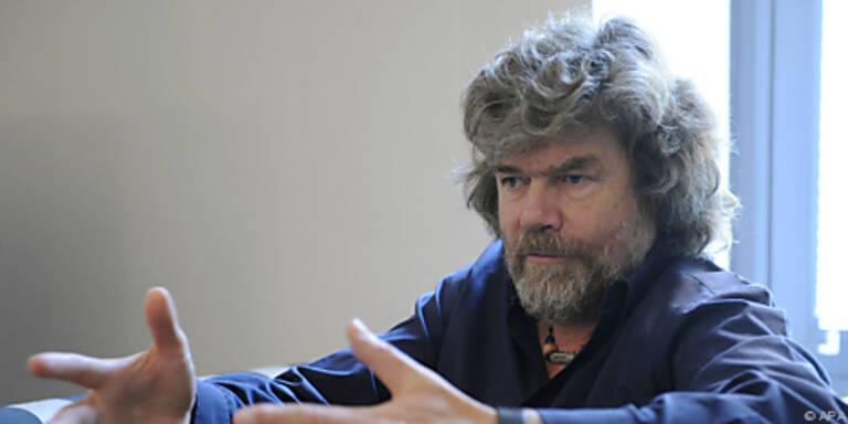 Reinhold Messner gab ein Interview in Wien
