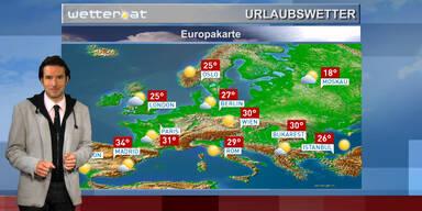 Unser Europa-Reisewetter