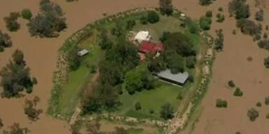 Überschwemmungen in Australien dauern an