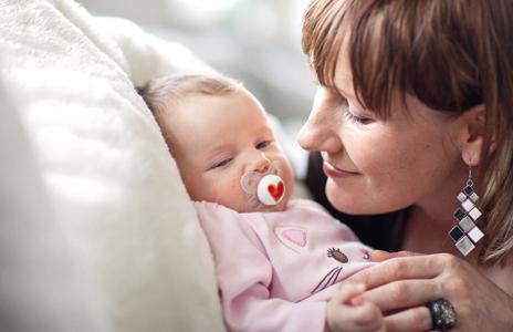 Renate Götschl Tochter Baby Lara Muttertag