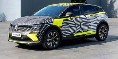 Neuer Elektro-Mégane erstmals auf der Straße