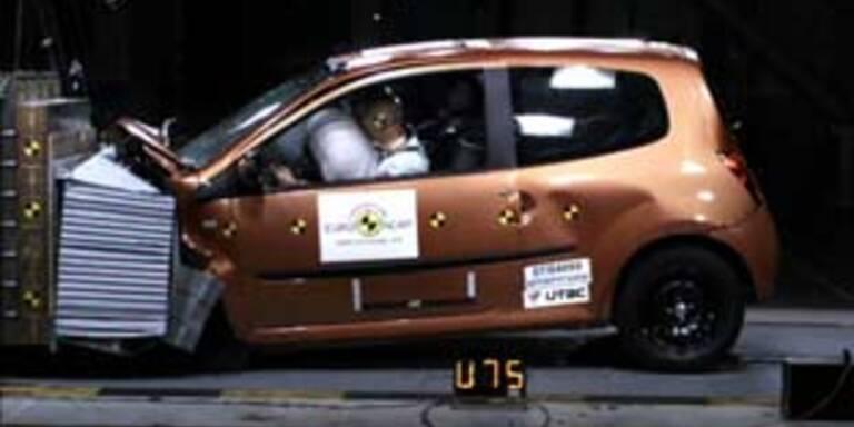 Renault Twingo bein Crash-Test