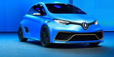 Renault zeigt ZOE mit über 460 PS