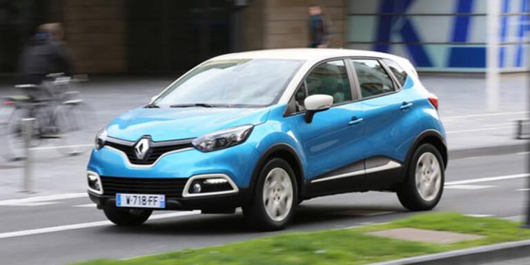 Startschuss für Renaults Mini-SUV Captur
