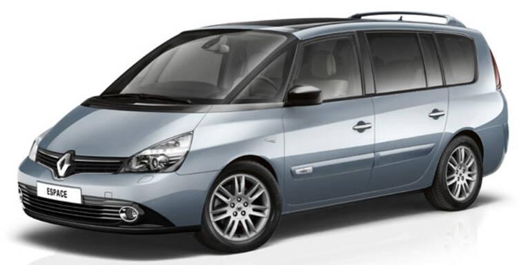 Mini-Facelift für den Renault Espace