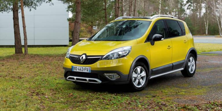 Weltpremiere des Renault Scénic Xmod