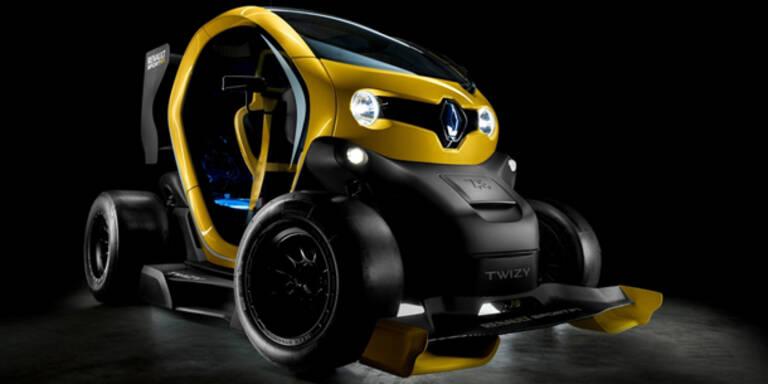 Formel 1-Ausgabe vom Renault Twizy