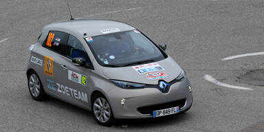 Renault ZOE räumt bei E-Rallye ab