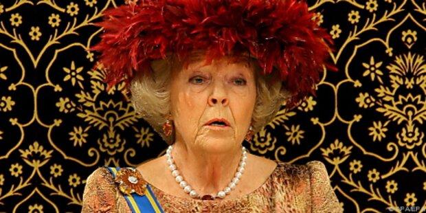 Königin Beatrix urlaubt in Lech