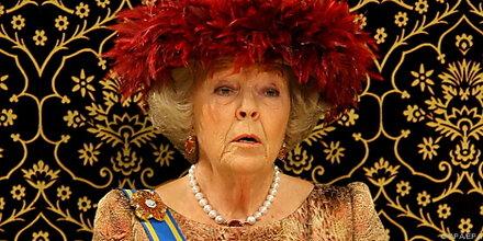 """""""Bombe"""" in Palast von Königin Beatrix geschmuggelt"""