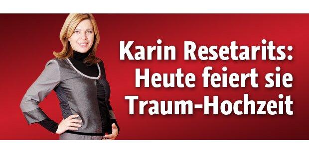 Heute heiratet Karin Resetarits