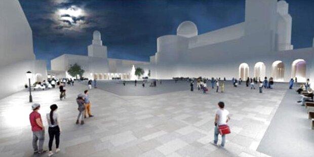 Salzburger Residenzplatz bald mit Granitplatten