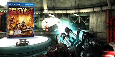 Resistance: Burning Skies für PS Vita