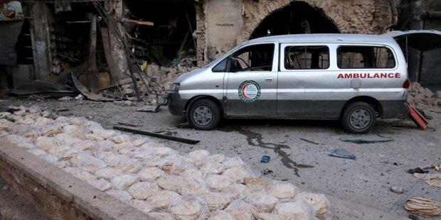 Krankenhäuser in Aleppo stellten Betrieb ein