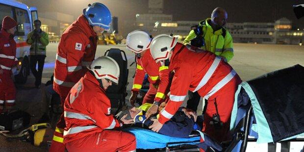19-Jähriger bei Crash schwer verletzt