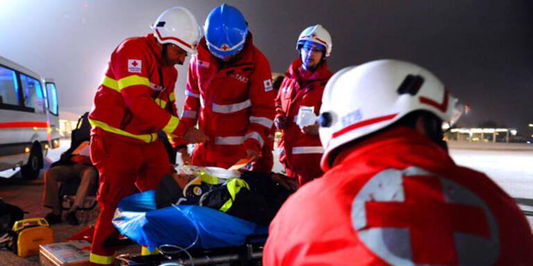 Arbeiter fällt in Fleischmischer: Tot