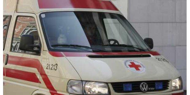 67-Jährige bei Treppensturz schwer verletzt