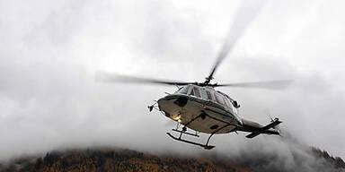 Rettungsheli Hubschrauber Italien
