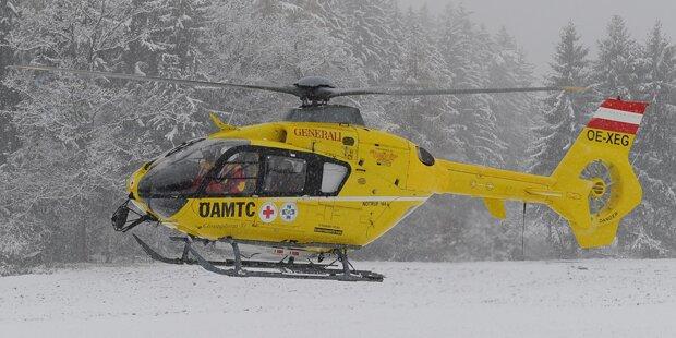 Siebenjähriges Mädchen nach Skiunfall bewusstlos