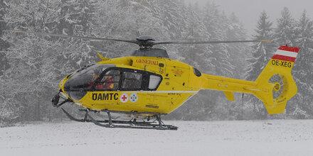 Kärntner bei Skiunfall schwerst verletzt