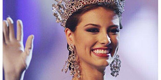 Miss Venezuela bekam eine Riesenkrone