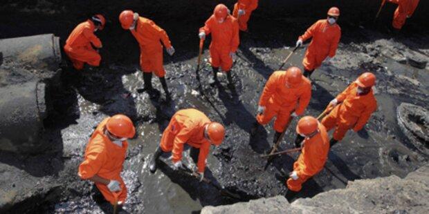 Öl-Pest vor spanischer Mittelmeerküste