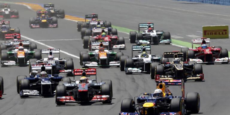 Formel 1: FIA will Kostenkontrolle