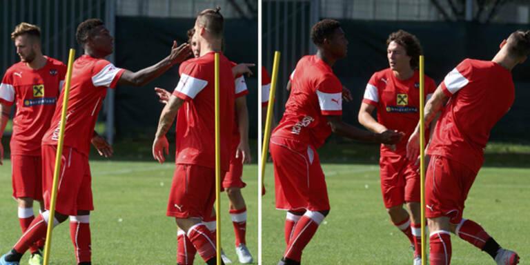 ÖFB-Team: Alaba watscht Arnautovic ab