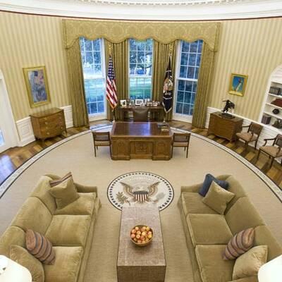 Obamas Arbeitplatz frisch renoviert