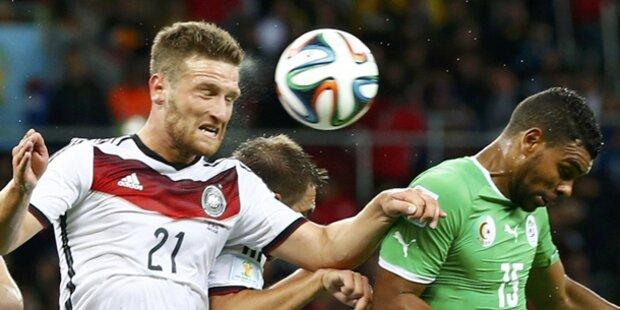 Deutschland zittert sich ins Viertelfinale