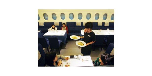 Essen wie im Airbus