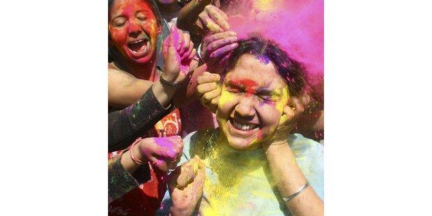 So feiert man den Frühling in Indien