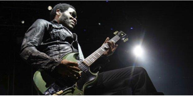 Lenny Kravitz heizte 8.000 Fans ein