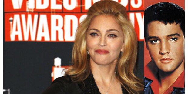 Madonna kickt Elvis vom Thron!