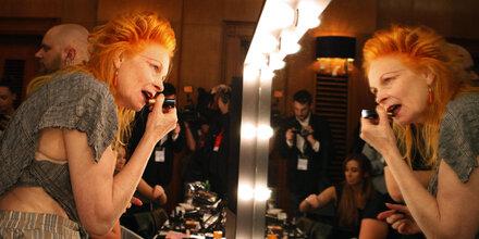 Vivienne Westwood hat Probleme mit Farben