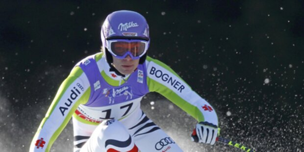 Super-G - Bronzemedaille / Maria Riesch