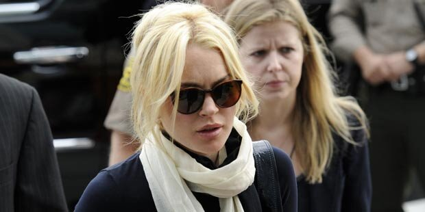 Lindsay Lohan: Fußfessel schlägt Alarm