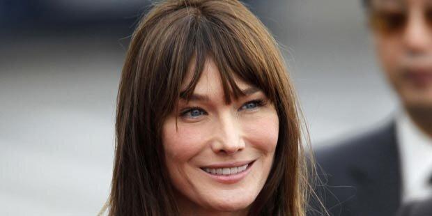 Tochter von Carla Bruni-Sarkozy heißt Giulia